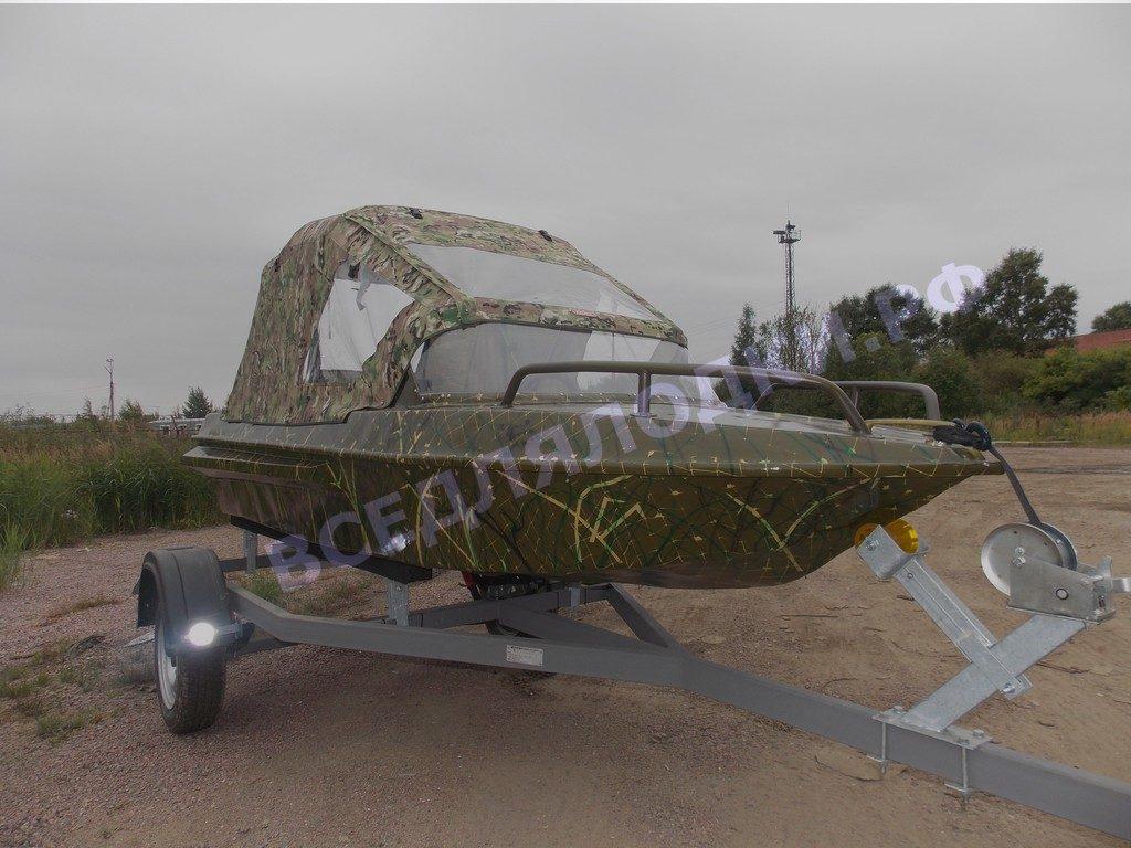 Стекло и тент для лодки Неман-1 1