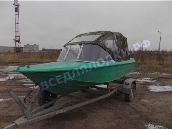 Ока-4. Стекло с калиткой на моторную лодку Ока-4 1
