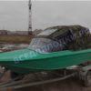 Ока-4. Стекло с калиткой на моторную лодку Ока-4 22