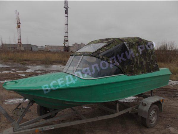 Ока-4. Стекло с калиткой на моторную лодку Ока-4 2