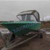 Ока-4. Стекло с калиткой на моторную лодку Ока-4 23