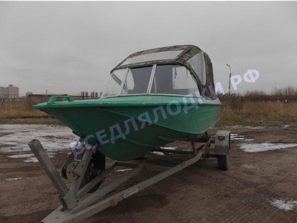 Ока-4. Стекло с калиткой на моторную лодку Ока-4 3