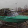 Ока-4. Стекло с калиткой на моторную лодку Ока-4 24
