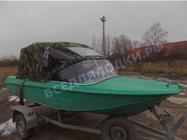 Ока-4. Стекло с калиткой на моторную лодку Ока-4 4