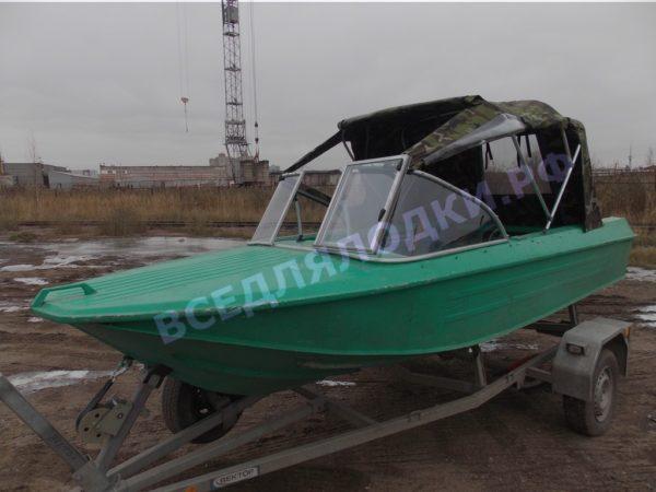 Ока-4. Стекло с калиткой на моторную лодку Ока-4 6