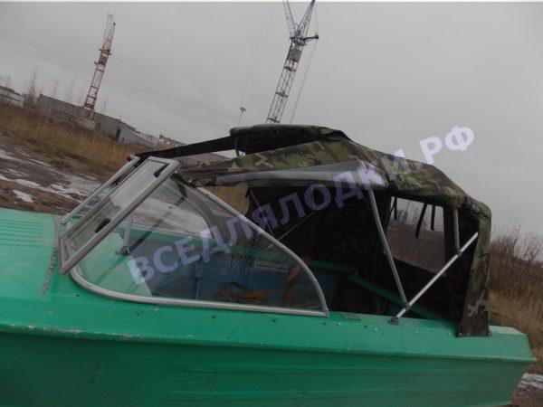 Ока-4. Стекло с калиткой на моторную лодку Ока-4 7
