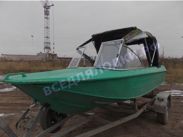 Ока-4. Стекло с калиткой на моторную лодку Ока-4 9