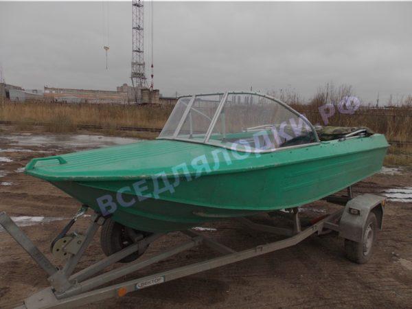 Ока-4. Стекло с калиткой на моторную лодку Ока-4 11
