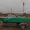 Ока-4. Стекло с калиткой на моторную лодку Ока-4 33