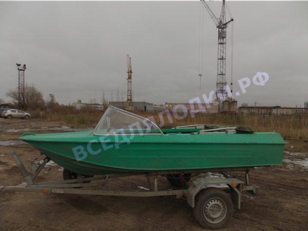 Ока-4. Стекло с калиткой на моторную лодку Ока-4 13