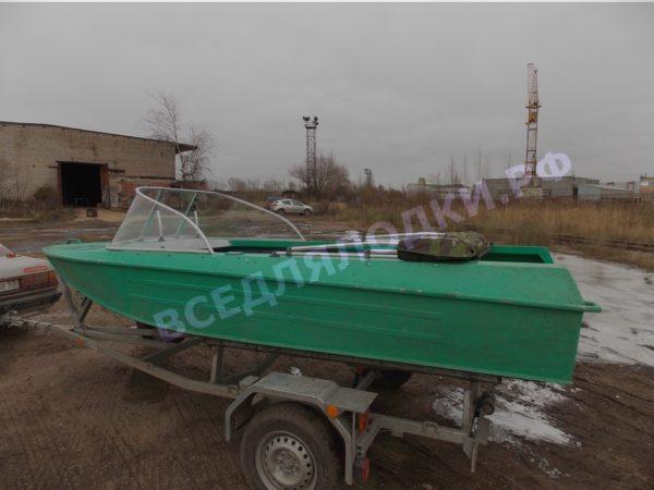 Ока-4. Стекло с калиткой на моторную лодку Ока-4 14