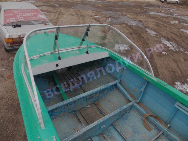 Ока-4. Стекло с калиткой на моторную лодку Ока-4 15