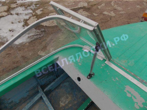 Ока-4. Стекло с калиткой на моторную лодку Ока-4 17