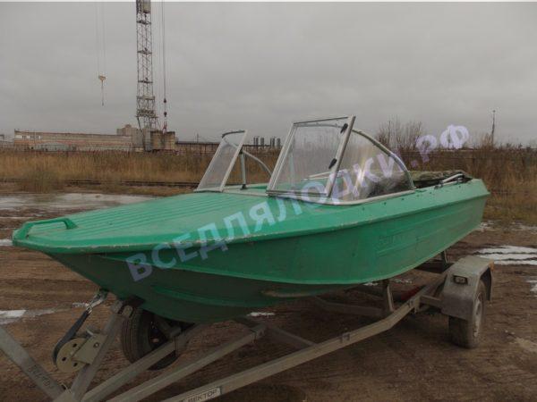 Ока-4. Стекло с калиткой на моторную лодку Ока-4 18