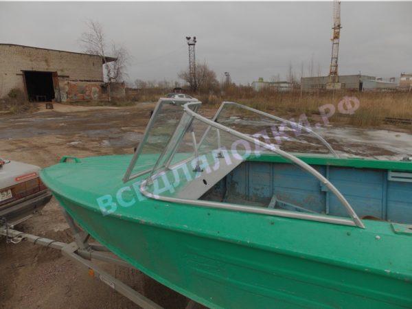 Ока-4. Стекло с калиткой на моторную лодку Ока-4 19