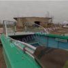 Ока-4. Стекло с калиткой на моторную лодку Ока-4 40