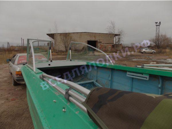 Ока-4. Стекло с калиткой на моторную лодку Ока-4 20
