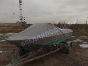 Ока-4. Тент стояночный (транспортировочный) для стекла с калиткой.