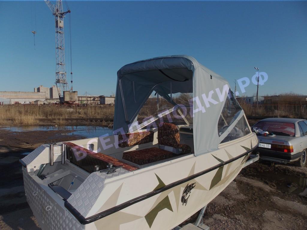 Крым-3. Тент с дугами трансформер полурубка.