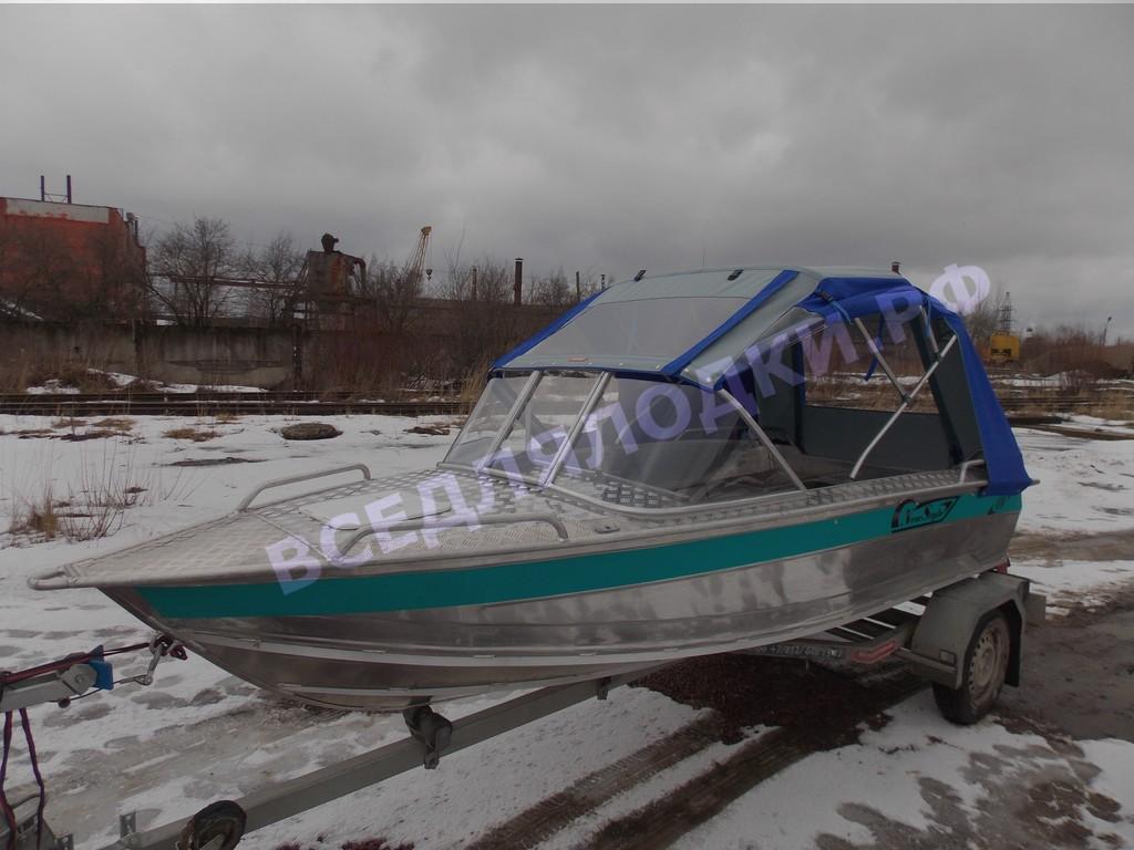 Тент для лодки Wellboat 410NS 1