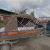 Wellboat-42 / Вельбот-42. Тент ходовой на тройные дуги 26