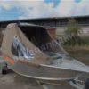 Wellboat-42 / Вельбот-42. Тент ходовой на тройные дуги 29