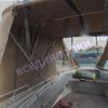 Wellboat-42 / Вельбот-42. Тент ходовой на тройные дуги 30