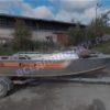 Wellboat-42 / Вельбот-42. Тент ходовой на тройные дуги 31