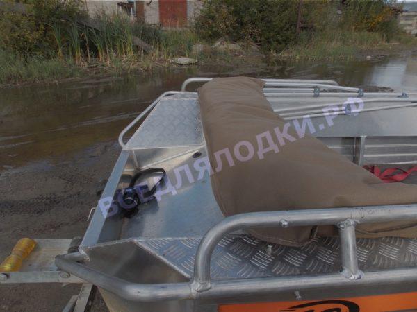 Wellboat-42 / Вельбот-42. Тент ходовой на тройные дуги 15
