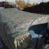 Воронеж. Транспортировочный тент на стекло с калиткой. 11