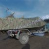 Воронеж. Транспортировочный тент на стекло с калиткой. 13