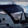Корвет 600 ВА. Corvet 600 WA. Тент ходовой, высокий, на тройные дуги. 26