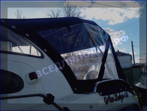 Корвет 600 ВА. Corvet 600 WA. Тент ходовой, высокий, на тройные дуги. 12
