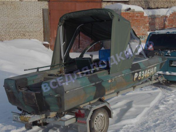 """Обь-3. Тент """"Полурубка"""". 24"""