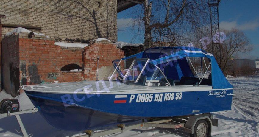 Тент на лодку Казанка 2М.