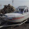 Тент на лодку Трайдент 450 Фиш. Trident 450