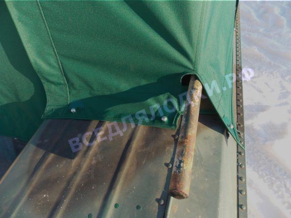 Тент ходовой Обь-3 для стекла с калиткой. 7