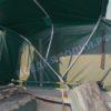 Тент ходовой Обь-3 для стекла с калиткой. 36