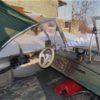Тент ходовой Обь-3 для стекла с калиткой. 37