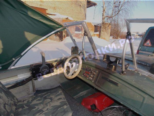 Тент ходовой Обь-3 для стекла с калиткой. 16