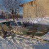 Тент ходовой Обь-3 для стекла с калиткой. 38