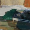 Тент ходовой Обь-3 для стекла с калиткой. 40
