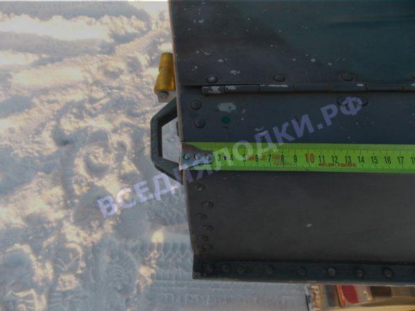 Тент ходовой Обь-3 для стекла с калиткой. 20