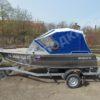 Windboat-42MPro / Виндбот-42МПро. Тент для стекла с калиткой. 38