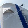 Windboat-42MPro / Виндбот-42МПро. Тент для стекла с калиткой. 39