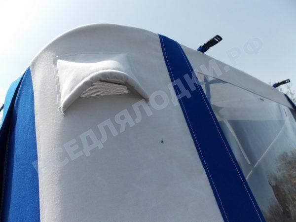 Windboat-42MPro / Виндбот-42МПро. Тент для стекла с калиткой. 4