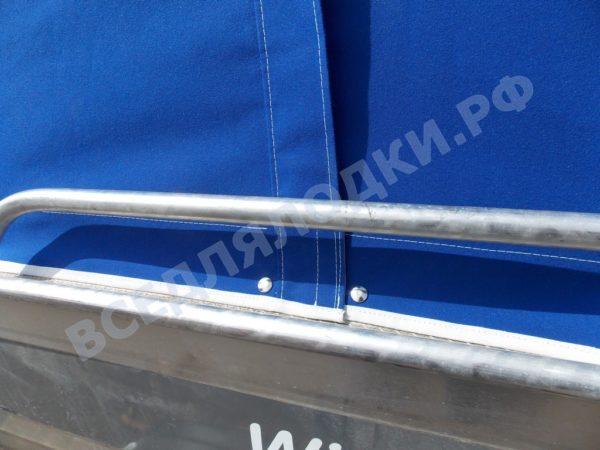 Windboat-42MPro / Виндбот-42МПро. Тент для стекла с калиткой. 6