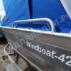 Windboat-42MPro / Виндбот-42МПро. Тент для стекла с калиткой. 42