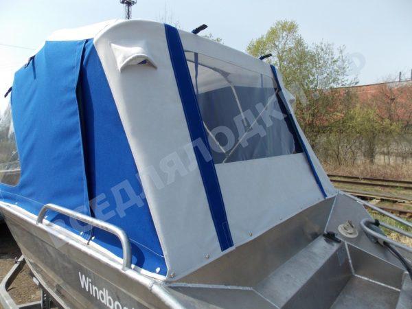 Windboat-42MPro / Виндбот-42МПро. Тент для стекла с калиткой. 8