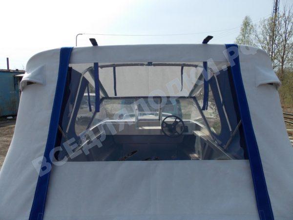 Windboat-42MPro / Виндбот-42МПро. Тент для стекла с калиткой. 10